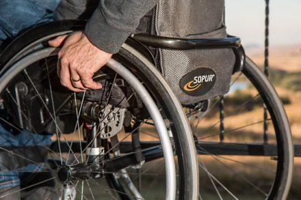 défense victime accident avec handicap