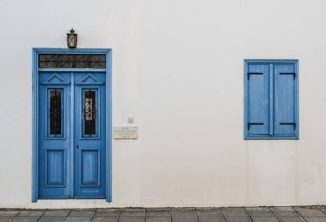 porte de maison sécurisée