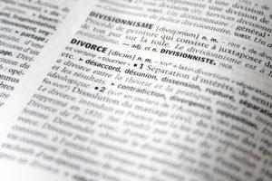 le divorce en 2018